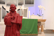 Luther ist nicht nur der Namenspatron der evangelischen Südstadtkirche, sondern auch bis heute für unzählige Menschen ein Inspirator in vielfacher Hinsicht (Foto: J. Gerhardt)