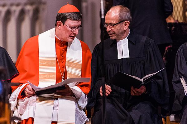 Präses Manfred Rekowski und Erzbischof Rainer Maria Kardinal Woelki leiten gemeinsam die ökumenische Vesper im Altenberger Dom