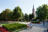 Die evangelische Kireuzkirche am Hofgarten: Orte spannender Stadtgeschichte (Foto: ekir.de)