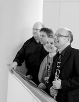 """Erstklassige Klezmermusik zur Kirchennacht um 22.00 Uhr in der Kreuzkirche am Kaiserplatz mit dem Quartett """"Dance of Joy"""" (Foto: BKN)"""