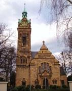 Die Lutherkirche, traditionsreiche evangelische Kirche in der Bonner Südstadt