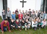 Kirche ist Gemeinschaft: Große Konfirmandengruppen sind in Bonn wie hier bei der Lukaskirchengemeinde im Auerberg keine Seltenheit (Foto: Michael Schäfer)