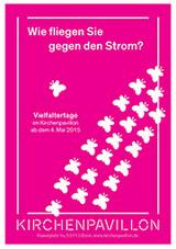 "Plakat des Kirchenpavillons zur Tipi-Aktion ""Vielfalter"""