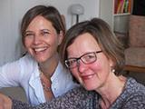 Ein starkes Duo am Klavier: Christina Bach (l.) und Dorothea Schridde (Foto: privat)