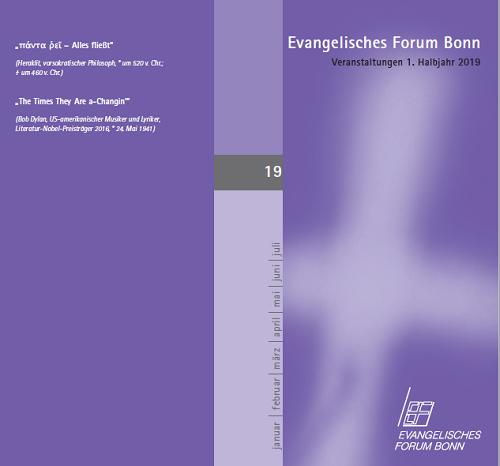 Das neue Programm des Evangelischen Forums ist da! Schauen Sie mal rein.
