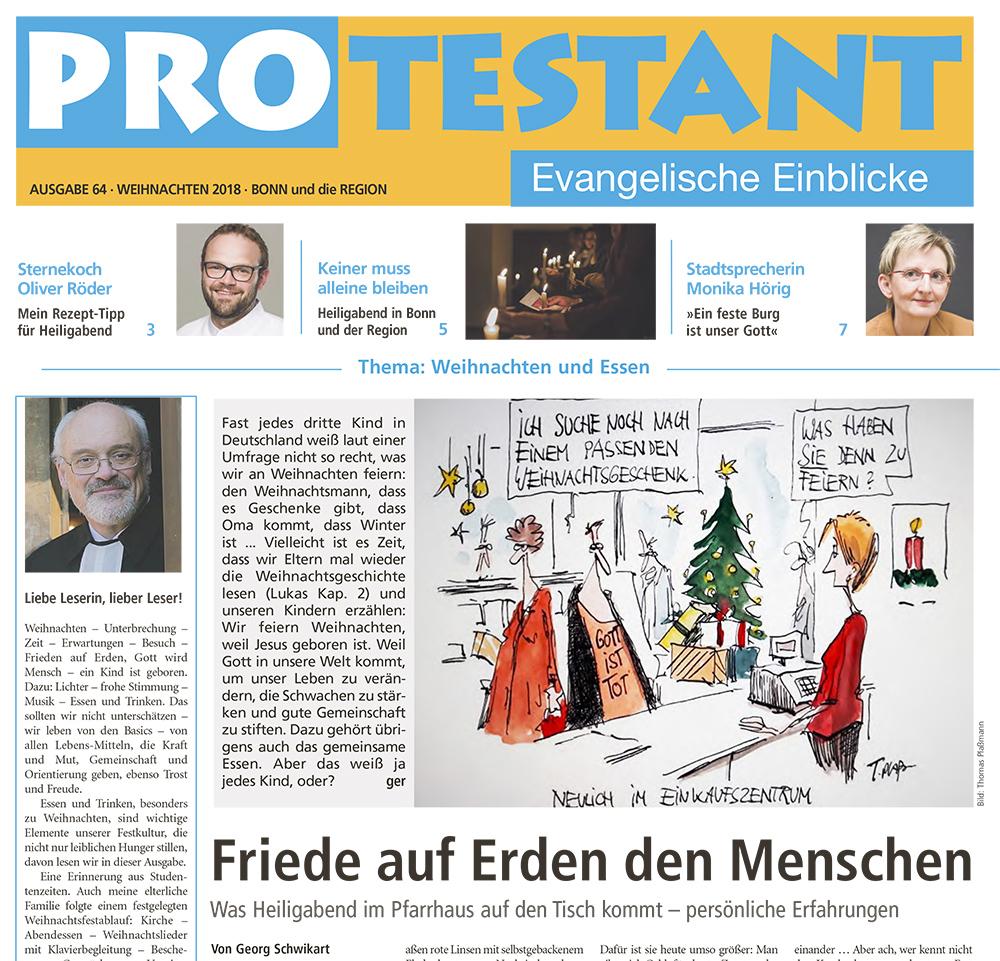 PROtestant: die evangelische Kirchenzeitung für Bonn und die Region