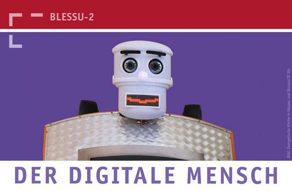 """Vor einem Jahr in Bonn eröffnete er die Debatte um Kirche, Verkündigung und Digitalisierung: der Segensroboter """"BlessU-2"""" (Foto: Archiv Kk Bonn)"""
