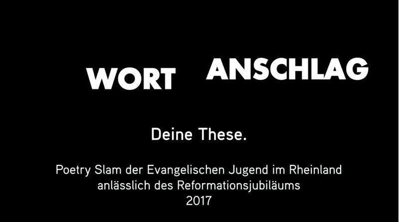 Um Lust auf den Poetry Slam am 30. September in der Thomaskirche in Bonn zu machen, gibt es hier als Kostprobe ein kurzes Video des Vorentscheids der Jugendkirche Düsseldorf.