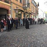 Menschenkette in Simmern