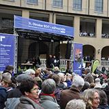 Der Kirchenkreis an Sieg und Rhein feierte das Reformatonsjubiläum auf dem Gelände der Steyler Missionare.